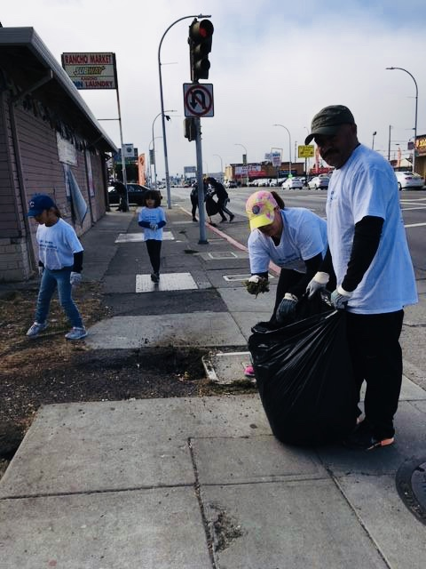 Helping the Community Clean Up 23rd Street in Richmond